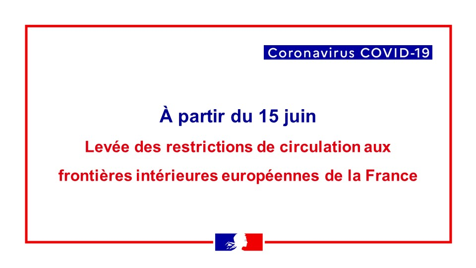 Frankrike Oppnar Sina Granser For Resande Inom Eu Schengenomradet 15 Juni La France En Suede